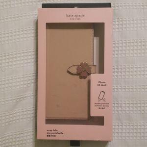 kate spade Accessories - NIB Kate Spade Wrap Folio Wallet Phone Case